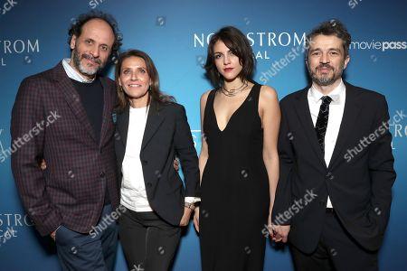 Luca Guadagnino, Walter Fasano and guests