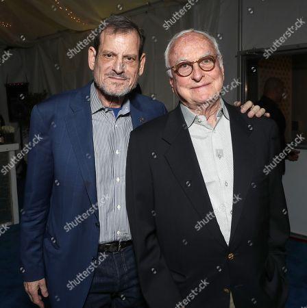 Stock Image of Howard Rosenman and James Ivory