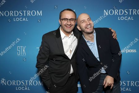 Stock Picture of Andrey Zvyagintsev and Evgueni Galperine