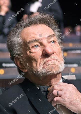 French singer Eddy Mitchell attends the 43rd Cesar Film Awards ceremony, in Paris