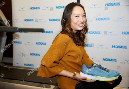 Elizabeth Ho attends Day 2 of the Kari Feinstein Style Lounge at the Andaz Hotel on in West Hollywood, Calif