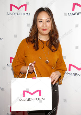 Elizabeth Ho. Attends Day 2 of the Kari Feinstein Style Lounge at the Andaz Hotel on in West Hollywood, Calif