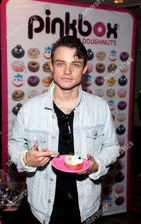 Thomas Doherty. Attends Day 2 of the Kari Feinstein Style Lounge at the Andaz Hotel on in West Hollywood, Calif