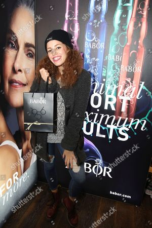 Mahogany Lox attends Day 2 of the Kari Feinstein Style Lounge at the Andaz Hotel on in West Hollywood, Calif