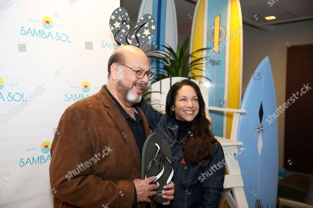Fred Melamed, Leslee Spieler. Fred Melamed, left, and Leslee Spieler attend Day 2 of the Kari Feinstein Style Lounge at the Andaz Hotel on in West Hollywood, Calif