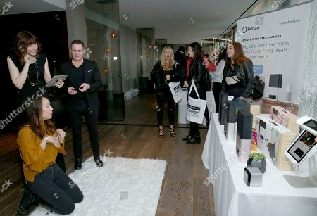 Elizabeth Ho, Audrey Moore. Elizabeth Ho and Audrey Moore attend Day 2 of the Kari Feinstein Style Lounge at the Andaz Hotel on in West Hollywood, Calif