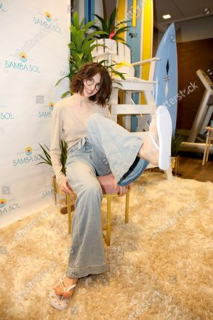 Genevieve Buechner attends Day 2 of the Kari Feinstein Style Lounge at the Andaz Hotel on in West Hollywood, Calif