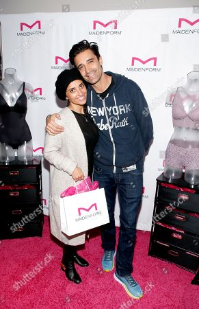 Gilles Marini, Carole Marini. Attends Day 2 of the Kari Feinstein Style Lounge at the Andaz Hotel on in West Hollywood, Calif
