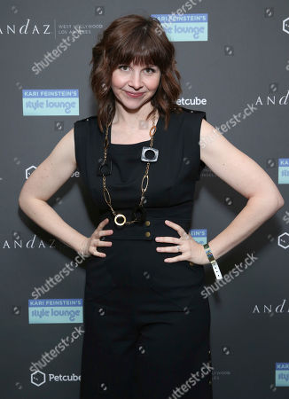 Audrey Moore attends Day 2 of the Kari Feinstein Style Lounge at the Andaz Hotel on in West Hollywood, Calif