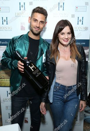 Jean-Luc Bilodeau, Chelsea Hobbs. Jean-Luc Bilodeau, left, and Chelsea Hobbs attend Day 2 of the Kari Feinstein Style Lounge at the Andaz Hotel on in West Hollywood, Calif