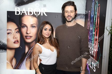 Hale Appleman, Summer Bishil. Summer Bishil, left, and Hale Appleman attend Day 2 of the Kari Feinstein Style Lounge at the Andaz Hotel on in West Hollywood, Calif