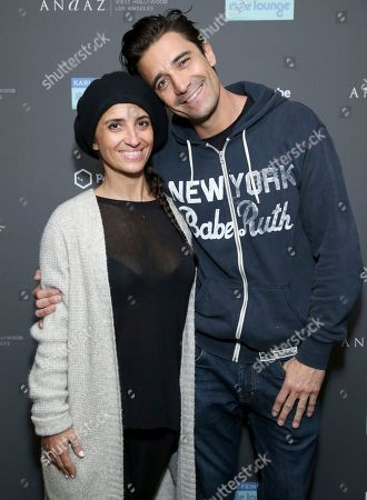 Gilles Marini, Carole Marini. Gilles Marini, right, and Carole Marini attend Day 2 of the Kari Feinstein Style Lounge at the Andaz Hotel on in West Hollywood, Calif