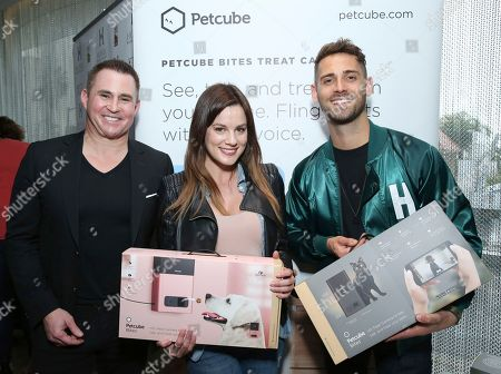 Jean-Luc Bilodeau, Chelsea Hobbs. Jean-Luc Bilodeau, right, and Chelsea Hobbs attend Day 2 of the Kari Feinstein Style Lounge at the Andaz Hotel on in West Hollywood, Calif