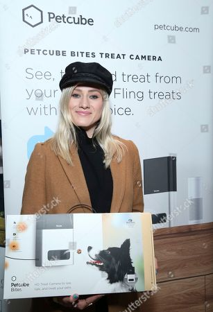 Olivia Dudley attends Day 2 of the Kari Feinstein Style Lounge at the Andaz Hotel on in West Hollywood, Calif