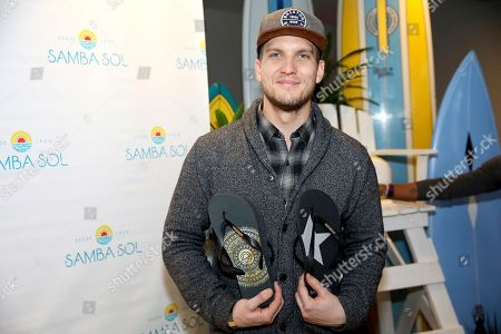 Scott Michael Foster attends Day 2 of the Kari Feinstein Style Lounge at the Andaz Hotel on in West Hollywood, Calif