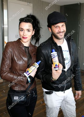 Ivana Horvat, Stefan Kapicic. Ivana Horvat, left, and Stefan Kapicic attend Day 1 of the Kari Feinstein Style Lounge at the Andaz Hotel on in West Hollywood, Calif