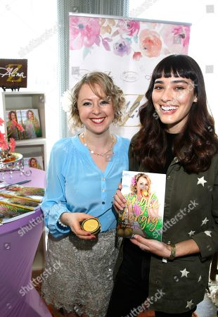 Alina Z, Margaux Brooke. Margaux Brooke, right, poses with Chef Alina Z at Day 1 of the Kari Feinstein Style Lounge at the Andaz Hotel on in West Hollywood, Calif