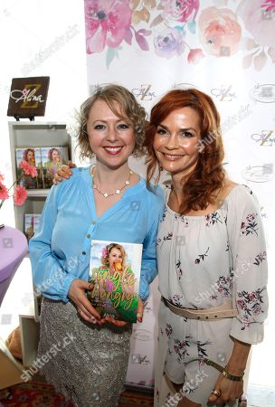 Alina Z, Nathalie Boltt. Nathalie Boltt, right, poses with Chef Alina Z at Day 1 of the Kari Feinstein Style Lounge at the Andaz Hotel on in West Hollywood, Calif