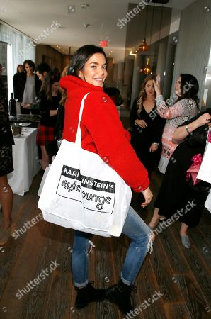Aarika Wolf attends Day 1 of the Kari Feinstein Style Lounge at the Andaz Hotel on in West Hollywood, Calif