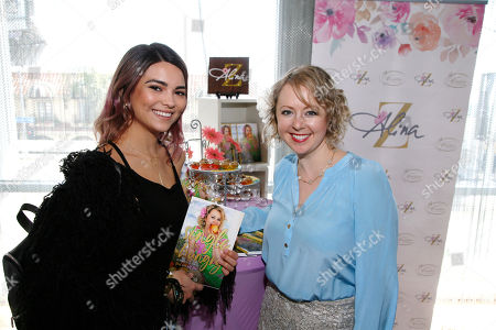 Kyra Santoro, Alina Z. Kyra Santoro, left, poses with Chef Alina Z at Day 1 of the Kari Feinstein Style Lounge at the Andaz Hotel on in West Hollywood, Calif