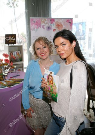 Alina Z, Aarika Wolf. Aarika Wolf, right, poses with Chef Alina Z at Day 1 of the Kari Feinstein Style Lounge at the Andaz Hotel on in West Hollywood, Calif