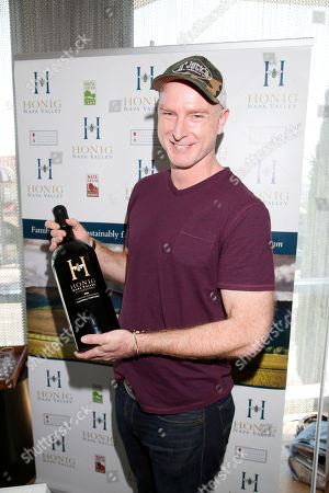 Hugo Armstrong attends Day 1 of the Kari Feinstein Style Lounge at the Andaz Hotel on in West Hollywood, Calif