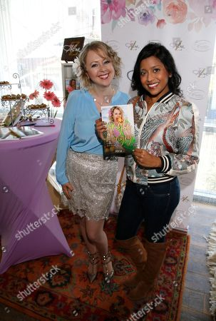 Alina Z, Tiya Sircar. Tiya Sircar, right, poses with Chef Alina Z at Day 1 of the Kari Feinstein Style Lounge at the Andaz Hotel on in West Hollywood, Calif
