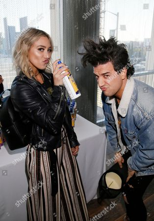Mark Ballas, BC Jean. Mark Ballas, right, and BC Jean attend Day 1 of the Kari Feinstein Style Lounge at the Andaz Hotel on in West Hollywood, Calif