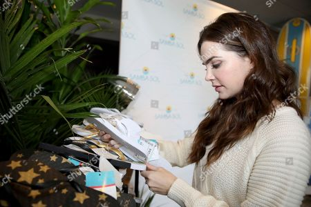 Jillian Murray attends Day 1 of the Kari Feinstein Style Lounge at the Andaz Hotel on in West Hollywood, Calif