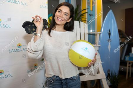 Kyra Santoro attends Day 1 of the Kari Feinstein Style Lounge at the Andaz Hotel on in West Hollywood, Calif