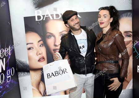 Stefan Kapicic, Ivana Horvat. Stefan Kapicic, left, and Ivana Horvat attend Day 1 of the Kari Feinstein Style Lounge at the Andaz Hotel on in West Hollywood, Calif