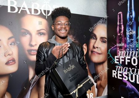 Kamil McFadden attends Day 1 of the Kari Feinstein Style Lounge at the Andaz Hotel on in West Hollywood, Calif