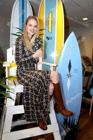 Genevieve Morton attends Day 1 of the Kari Feinstein Style Lounge at the Andaz Hotel on in West Hollywood, Calif