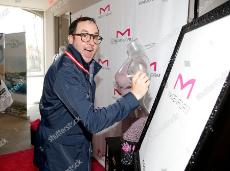 P. J. Byrne attends Day 1 of the Kari Feinstein Style Lounge at Andaz Hotel, in West Hollywood, Calf
