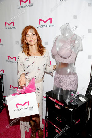 Nathalie Boltt attends Day 1 of the Kari Feinstein Style Lounge at Andaz Hotel, in West Hollywood, Calf