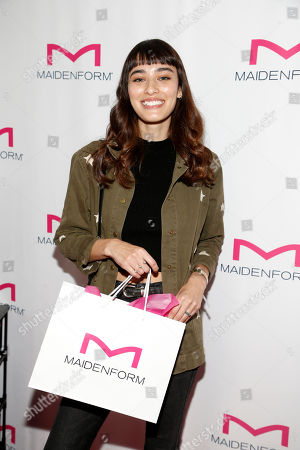 Stock Picture of Margaux Brooke attends Day 1 of the Kari Feinstein Style Lounge at Andaz Hotel, in West Hollywood, Calf