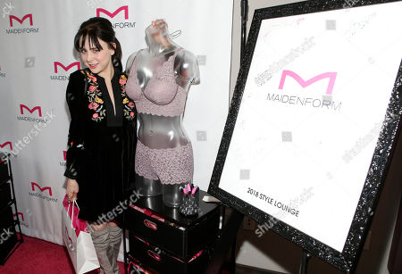 Alessandra Torresani attends Day 1 of the Kari Feinstein Style Lounge at Andaz Hotel, in West Hollywood, Calf