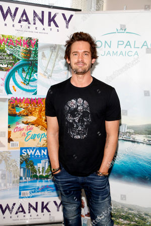 Will Kemp attends Day 1 of the Kari Feinstein Style Lounge at Andaz Hotel, in West Hollywood, Calf