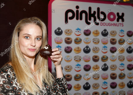 Stock Picture of Genevieve Morton attends Day 1 of the Kari Feinstein Style Lounge at Andaz Hotel, in West Hollywood, Calf