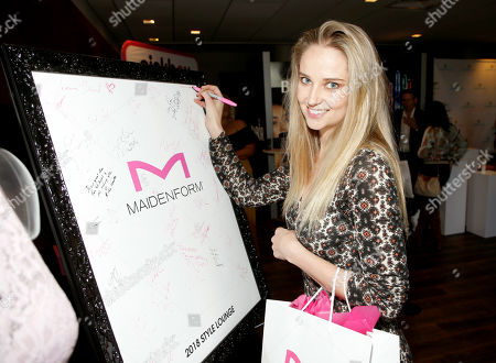 Stock Photo of Genevieve Morton attends Day 1 of the Kari Feinstein Style Lounge at Andaz Hotel, in West Hollywood, Calf