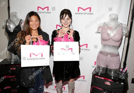 Alessandra Torresani, Jenna Ushkowitz. Jenna Ushkowitzattend, left, and Alessandra Torresani attend Day 1 of the Kari Feinstein Style Lounge at Andaz Hotel, in West Hollywood, Calf