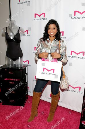 Tiya Sircar attends Day 1 of the Kari Feinstein Style Lounge at Andaz Hotel, in West Hollywood, Calf