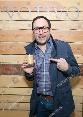 P. J. Byrne attends Day 1 of the Kari Feinstein Style Lounge at the Andaz Hotel on in West Hollywood, Calif