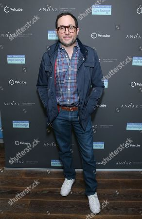 Stock Picture of P. J. Byrne attends Day 1 of the Kari Feinstein Style Lounge at the Andaz Hotel on in West Hollywood, Calif
