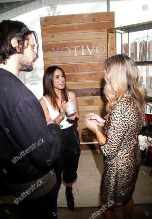 Stock Picture of Hale Appleman, Summer Bishil. Hale Appleman, left, and Summer Bishil attend Day 2 of the Kari Feinstein Style Lounge at the Andaz Hotel on in West Hollywood, Calif