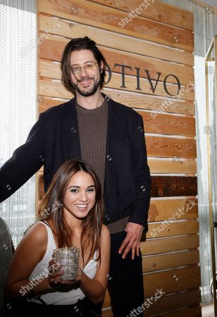 Summer Bishil, Hale Appleman. Summer Bishil, left, and Hale Appleman attend Day 2 of the Kari Feinstein Style Lounge at the Andaz Hotel on in West Hollywood, Calif