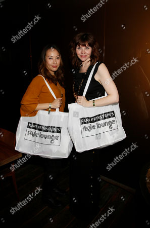 Elizabeth Ho, Audrey Moore. Elizabeth Ho, left, and Audrey Moore attend Day 2 of the Kari Feinstein Style Lounge at the Andaz Hotel on in West Hollywood, Calif