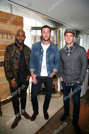 Karamo Brown, Pablo Schreiber, Scott Michael Foster. Karamo Brown, from left, Pablo Schreiber and Scott Michael Foster attend Day 2 of the Kari Feinstein Style Lounge at the Andaz Hotel on in West Hollywood, Calif