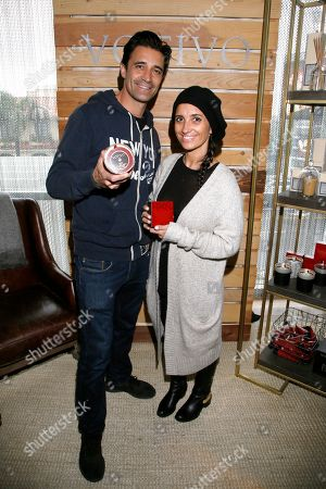 Gilles Marini, Carole Marini. Gilles Marini, left, and Carole Marini attend Day 2 of the Kari Feinstein Style Lounge at the Andaz Hotel on in West Hollywood, Calif