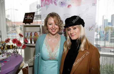 Alina Z, Olivia Dudley. Olivia Dudley, right, poses with Chef Alina Z at Day 2 of the Kari Feinstein Style Lounge at the Andaz Hotel on in West Hollywood, Calif